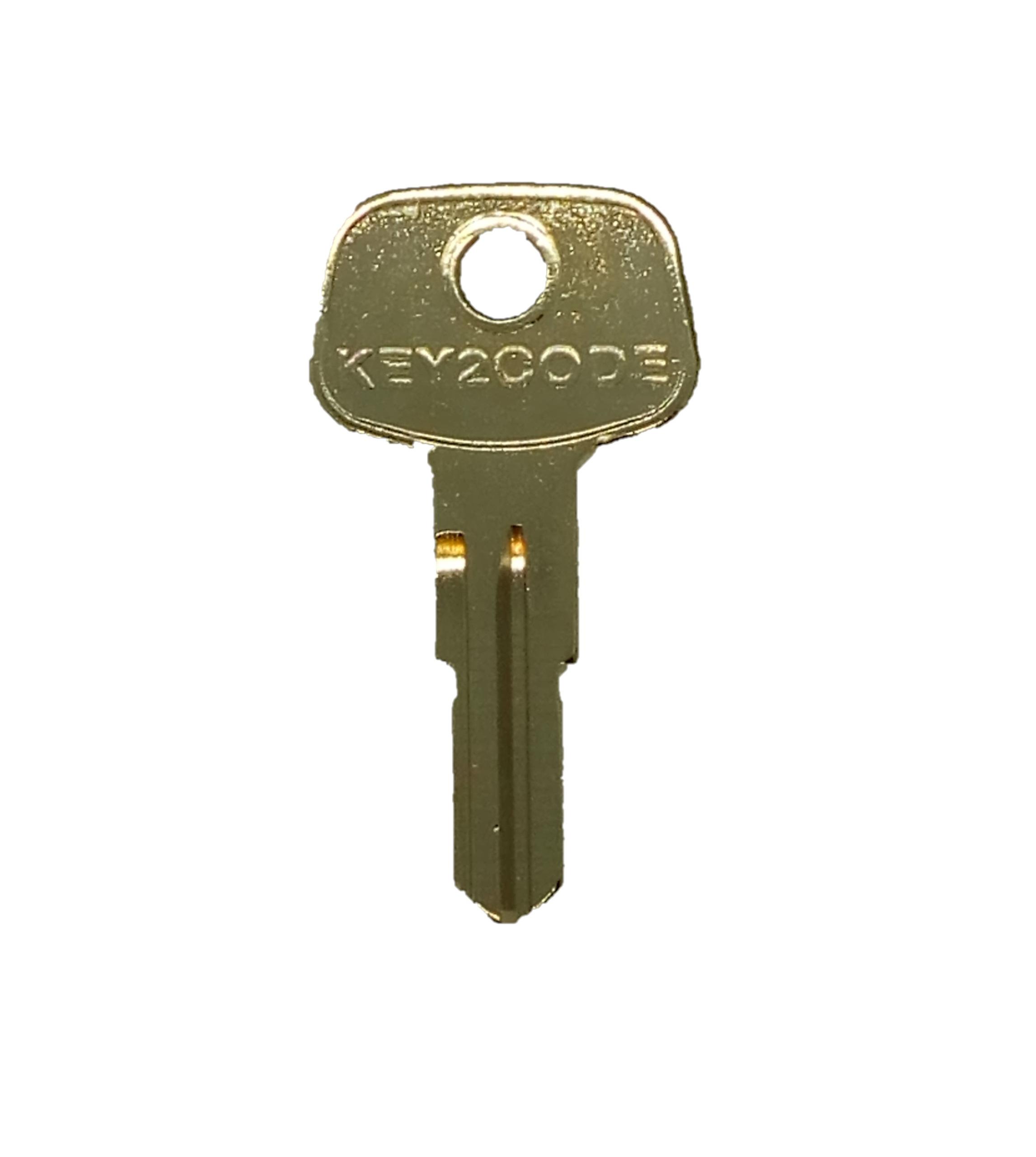 Roof Box Bar Rack Keys N001 N200 Series Keys